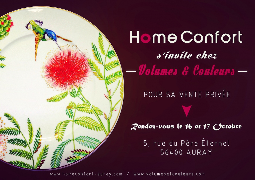 Vente Privée HOME CONFORT au Show Room